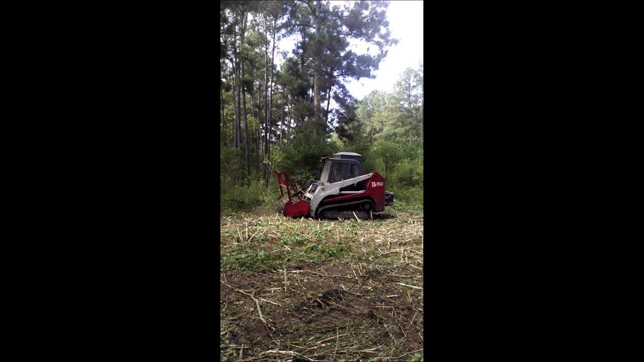 Skid Steer Mulcher | Mulching | Land Clearing Texas | Extreme Under  Brushing,LLC