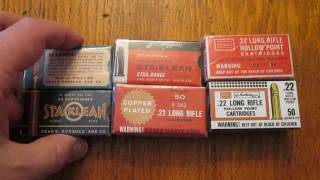 Collecting Vintage Ammo from Sears - 22 Long Rifle (LR) | 22Tony