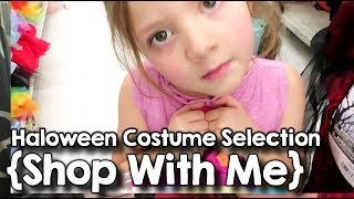Spooky Costume Selection ¦ Large Family Shop with Me ¦ October 2019