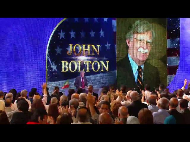Iranian Grand Gathering 2017 - John Bolton