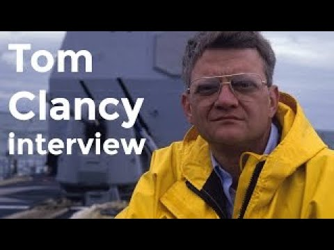 Tom Clancy interview (2003) - The Best Documentary Ever