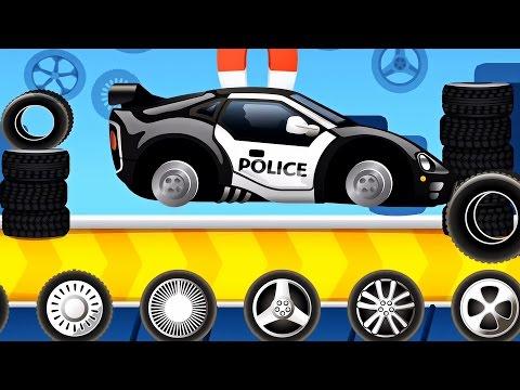 Police car - A funny Dream Cars Factory