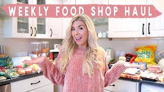 FOOD SHOPPING HAUL | WHAT WE BUY EACH WEEK & FAMILY MEAL IDEAS