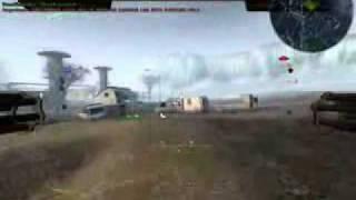 Battlefield 2142 Mech Gameplay