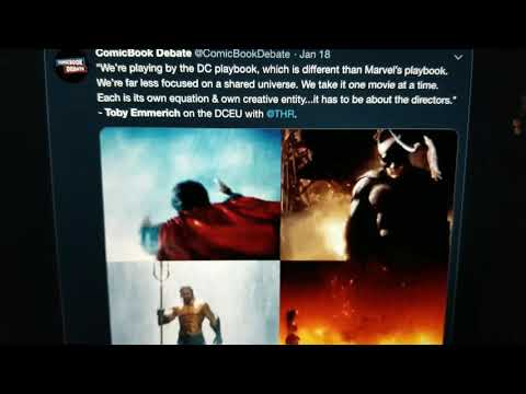 Toby Emmerich Talks About the DCEU's New Direction