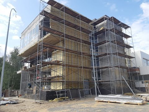 Завершается строительство третьей очереди поликлиники в г.Куровское