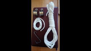 Double pulley, how to make it.