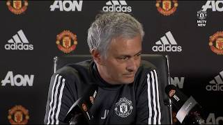 Jose Mourinho speaking about Alexis Sanchez at the press conference