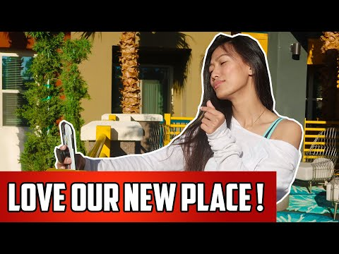 New Apartment Tour In Las Vegas! How Much Rent Costs To Live Here | Living The Dream In Vegas!