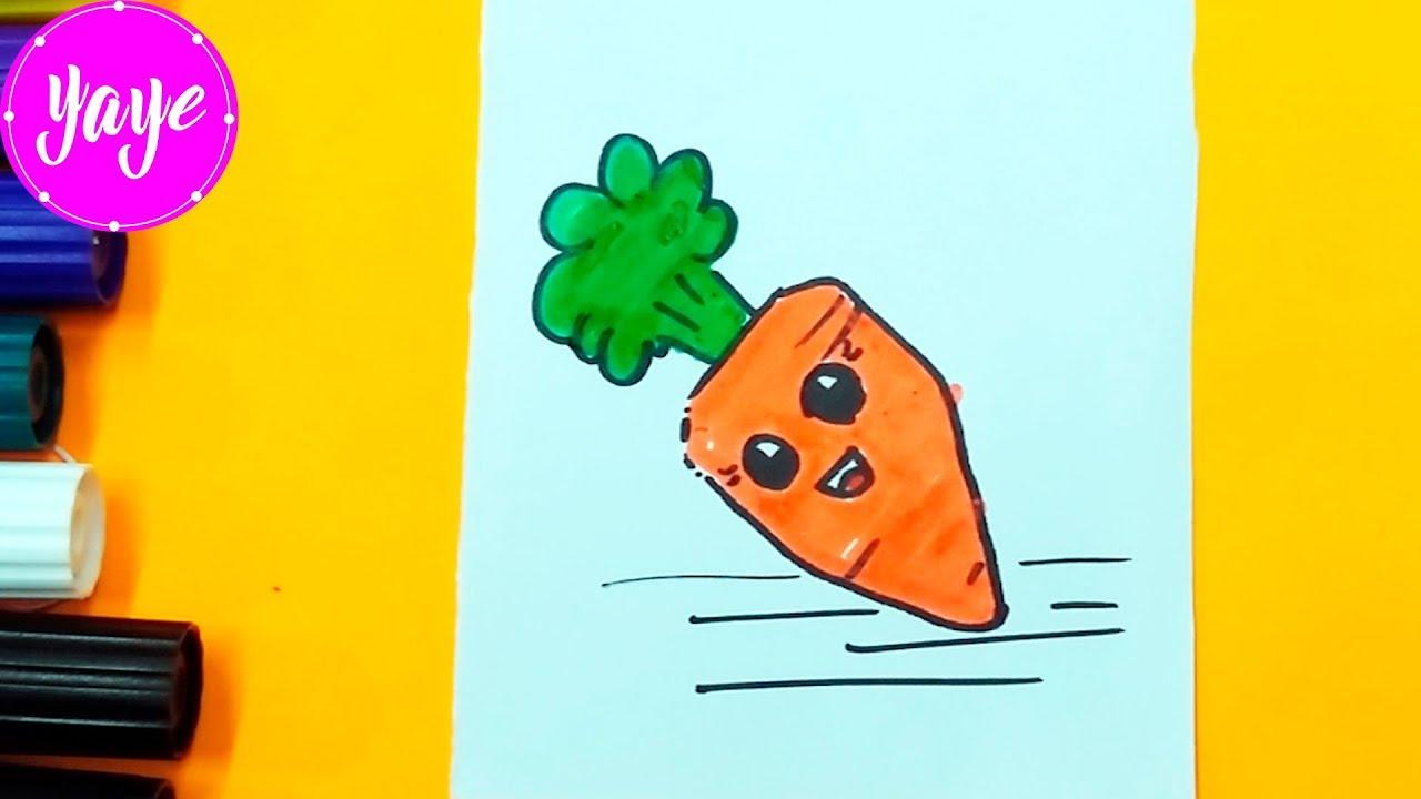 Como Dibujar Zanahoria Kawaii Paso A Paso Carrot Drawing Kawaii Yaye Youtube Descubre con nosotros este maravilloso arte proveniente de para ello podemos empezar trazando un triángulo invertido , dibujar los ojos en las esquinas superiores y la boca en la esquina inferior. como dibujar zanahoria kawaii paso a paso carrot drawing kawaii yaye