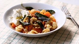 Butternut Squash And Sage Orecchiette - From The Test Kitchen