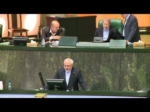 Iran's Zarif defends 'balanced' nuclear deal to MPs
