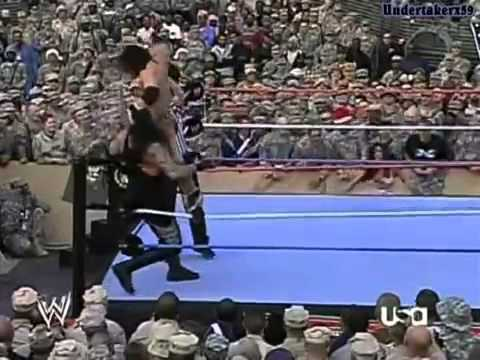 The Undertaker vs Johnny Nitro - Tribut To The Troops 2006