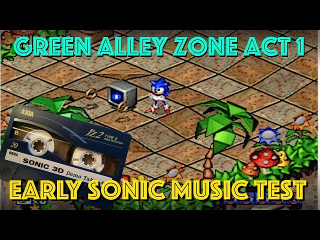 Revealed! - Amazing Unheard Sonic 3D Green Alley Zone Music Demo