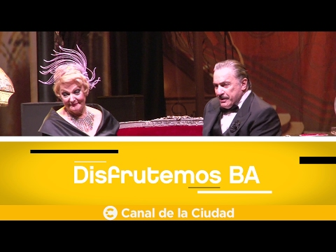 """<h3 class=""""list-group-item-title"""">Conocemos al elenco de """"Filomena Marturano"""" en el Centro Cultural 25 de mayo en Disfrutemos BA</h3>"""