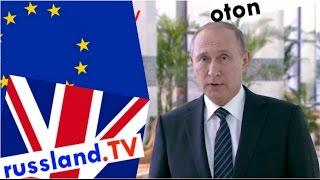 Putin zum Brexit auf deutsch
