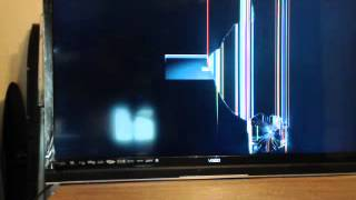 LCD LED Flat Panel Cracked screen, by: www.tulsatvrepair.biz