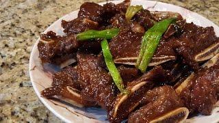 Korean BBQ Short Ribs Galbi 香煎韓式牛肋骨 Ep.12