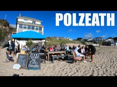 Polzeath - Cornwall - England - 4k Virtual Walk - July 2020