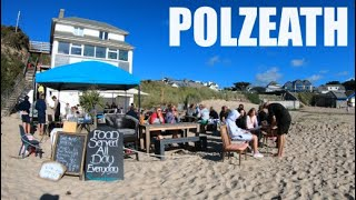 Polzeath - Cornwall - England - 4k Virtual Walk - July 2020