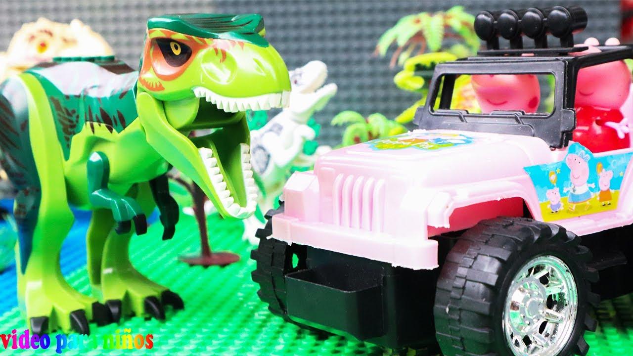 legos de dinosaurios en español | dinosaurios para niños juguetes