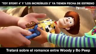 disney confirmó fecha de estrenos de toy story 4 y los increíbles 2