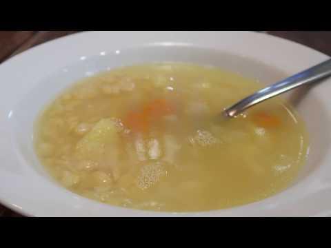 Как быстро приготовить вкусный гороховый суп в мультиварке. Постная кухня