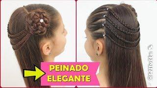 Peinado Fácil Elegante Y Rápido Para Niñas Peinados