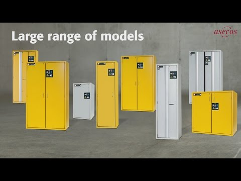 S-LINE Safety Storage Cabinets | Asecos