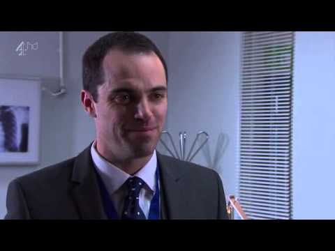 Hollyoaks Mercedes and Dr Browning meet Lindsey