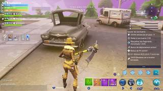 Glitch FORTNITE: TRAVERSER THE CART IN 1 SEC