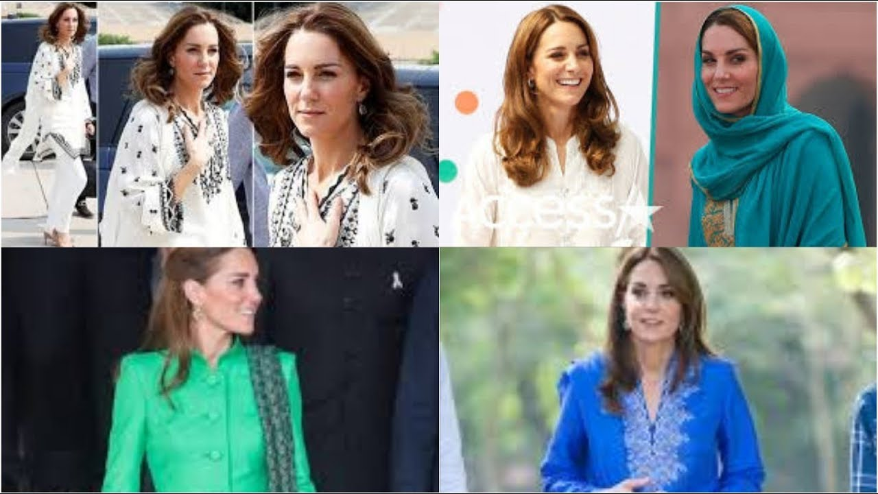 [VIDEO] – Kate middelton rocks in diffrent outfits on royal tour of Pakistan/kate look stunning