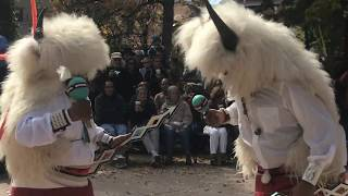 Indigenous Peoples Day Celebration 2017 - Laguna and Hopi Buffalo Dancers Clip 5