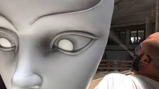 Proceso de creacion MASCARA Behind the Mask - Titabatuka