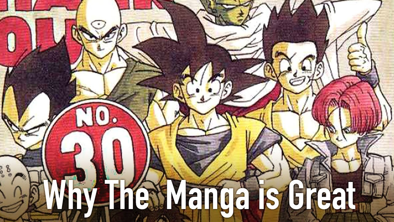 Why The Dragon Ball Z Manga is Great - YouTube