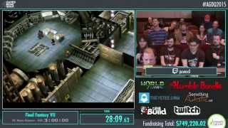 AGDQ 2015 - Final Fantasy VII Speedrun (PC New Game+)