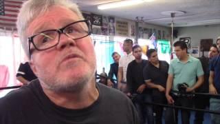 VARGAS BETTER WIN OR IM GONA TALK SOME SHIT! - FREDDIE ROACH TALKS MANNY PACQUAIO v JESSIE VARGAS