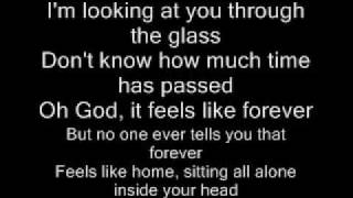 Repeat youtube video I'm looking at you through the glass with the lyrics