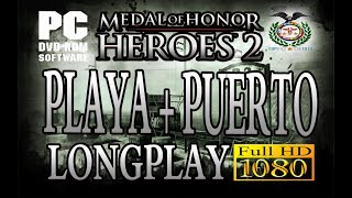 Medal of Honor: Heroes 2 Playa + Puerto Longplay Español (PSP) PPSSPP v1.5.4 full HD 1080p