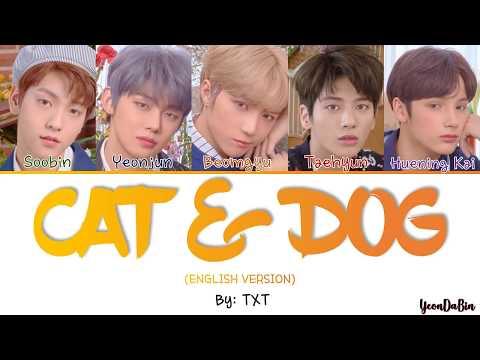txt-(투모로우바이투게더)---'cat-&-dog-(english-ver.)-'-han/rom/eng-color-coded-lyrics