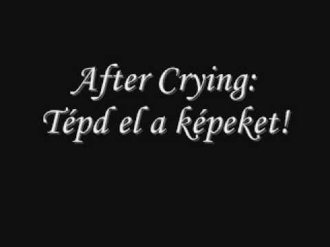 After Crying: Tépd el a képeket!