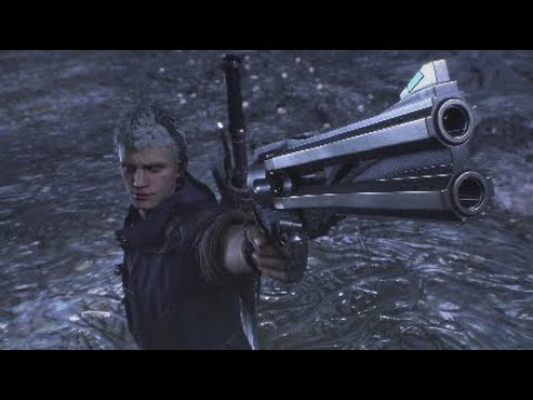 Testing the Devil May Cry 5 Sharefactory Theme