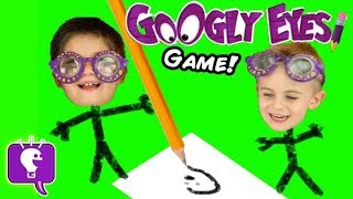 Download lagu Drawing Challenge Contest with Googly Eyes Game by HobbyKidsTV MP3