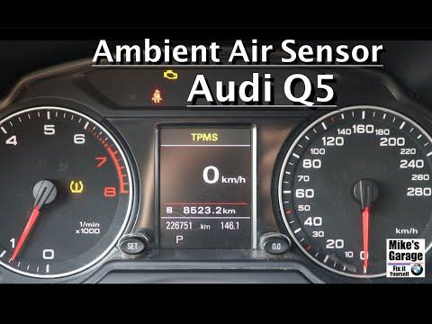 Audi Q5 How to replace bad Ambient Air Sensor / DIY