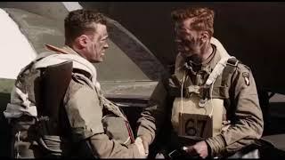 Удачи Вам и Храни Вас Господь... отрывок из сериала ( Братья по Оружию / Band of Brothers) 2001
