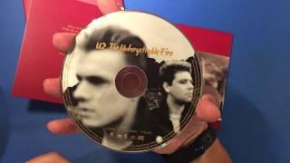 U2 The Unforgettable Fire special box set open box