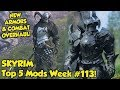 Skyrim Top 5 Mods of the Week #113 Xbox One Mods