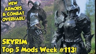 Skyrim Top 5 Mods of the Week #113 (Xbox One Mods)