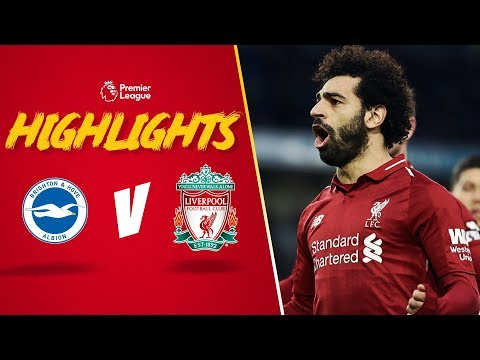 Salah spot on against Brighton   Brighton 0-1 Liverpool   Highlights