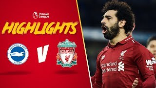 Salah spot on against Brighton | Brighton 0-1 Liverpool | Highlights